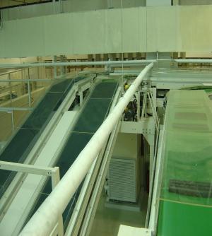塑胶行业自动输送工程